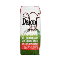 Daioni UHT Organic Strawberry Milk 200ml*