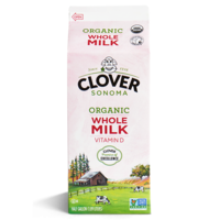 Clover Organic Whole Milk 946ml*