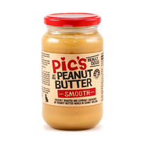Pic's Peanut Butter Salted Smooth 380g - NZ*